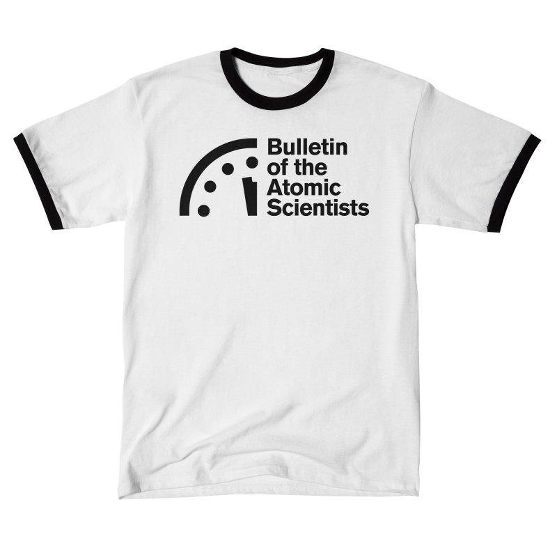 Bulletin of the Atomic Scientists Black Women's T-Shirt by Bulletin of the Atomic Scientists' Artist Shop