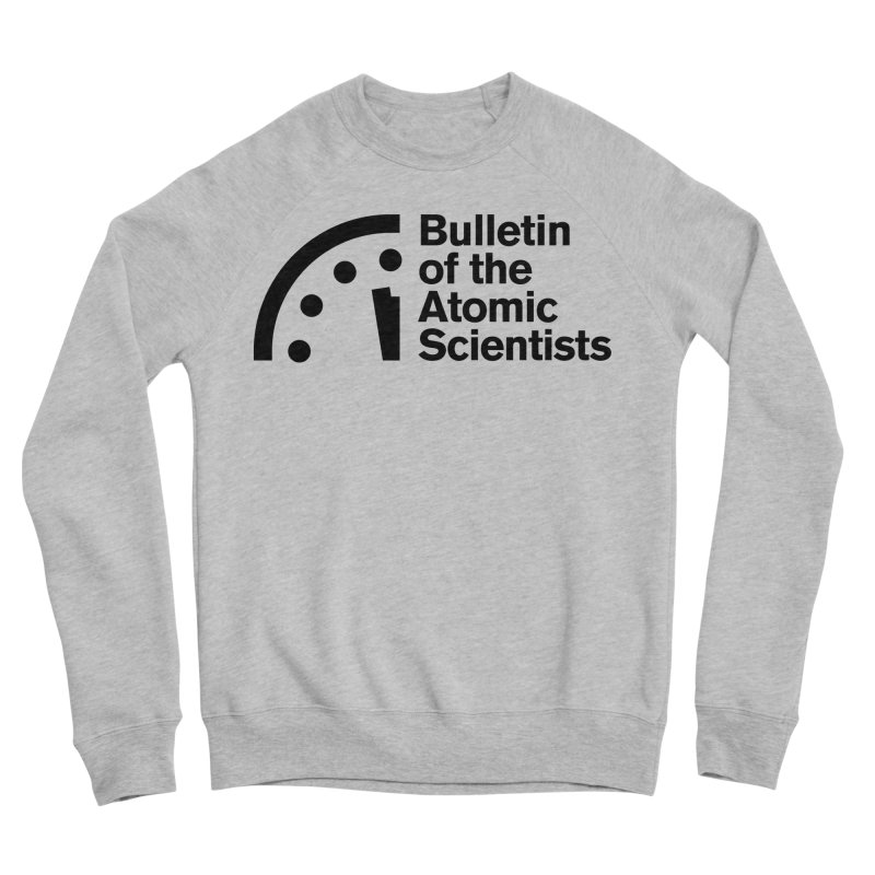 Bulletin of the Atomic Scientists Black Men's Sweatshirt by Bulletin of the Atomic Scientists' Artist Shop
