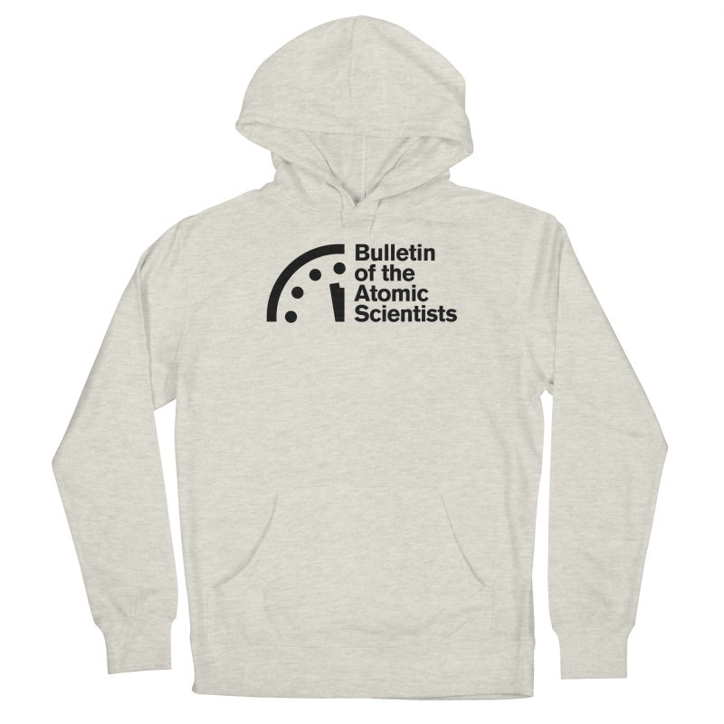 Bulletin of the Atomic Scientists Black Men's Pullover Hoody by Bulletin of the Atomic Scientists' Artist Shop