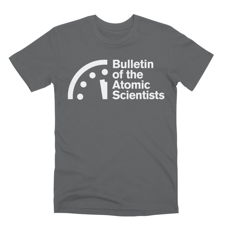 Bulletin of the Atomic Scientists White Men's T-Shirt by Bulletin of the Atomic Scientists' Artist Shop