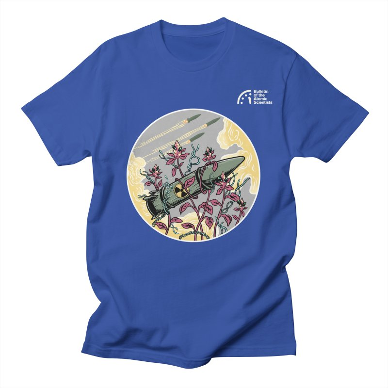 Stop it! by Agum Gum Men's T-Shirt by Bulletin of the Atomic Scientists' Artist Shop