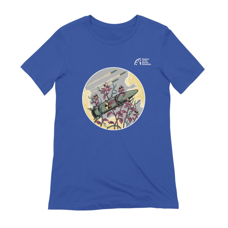 Stop it! by Agum Gum Women's T-Shirt by Bulletin of the Atomic Scientists' Artist Shop