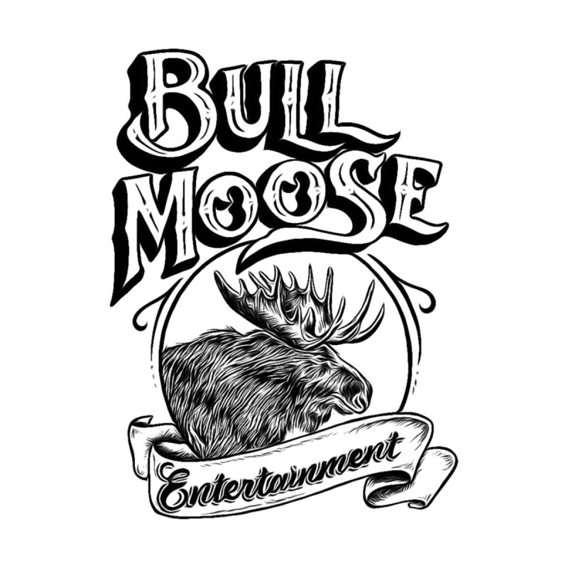 Bull Moose Logo Home Fine Art Print by thebullmoose's Artist Shop