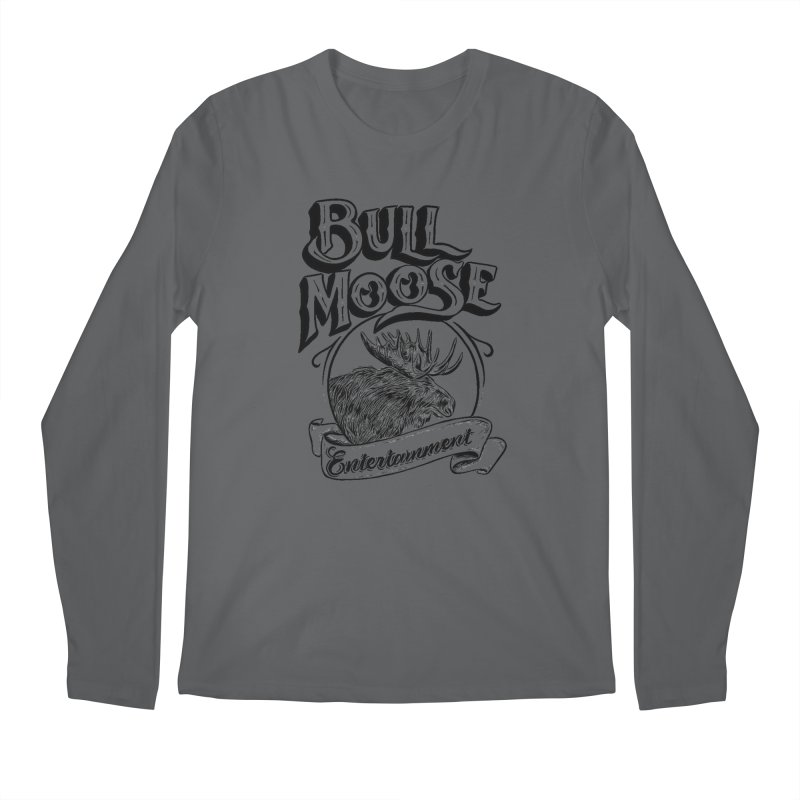 Bull Moose Logo Men's Longsleeve T-Shirt by thebullmoose's Artist Shop