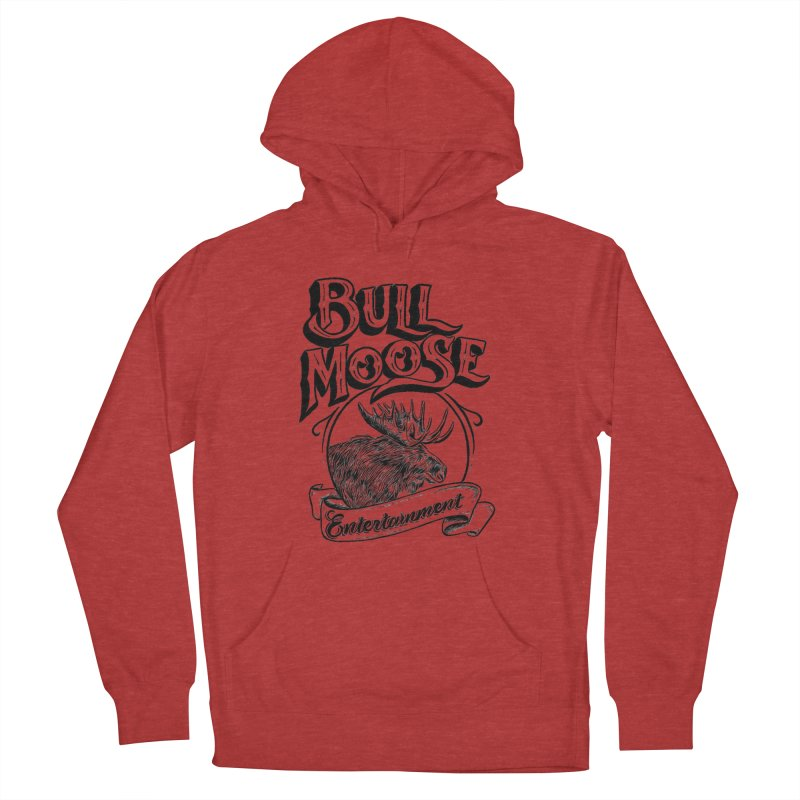 Bull Moose Logo Women's French Terry Pullover Hoody by thebullmoose's Artist Shop