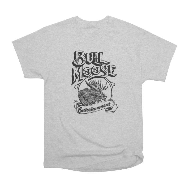 Bull Moose Logo Women's Heavyweight Unisex T-Shirt by thebullmoose's Artist Shop