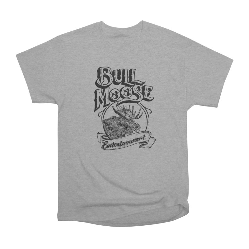 Bull Moose Logo Men's Heavyweight T-Shirt by thebullmoose's Artist Shop