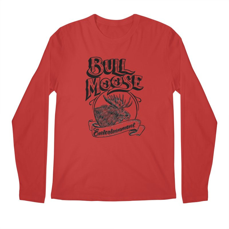Bull Moose Logo Men's Regular Longsleeve T-Shirt by thebullmoose's Artist Shop