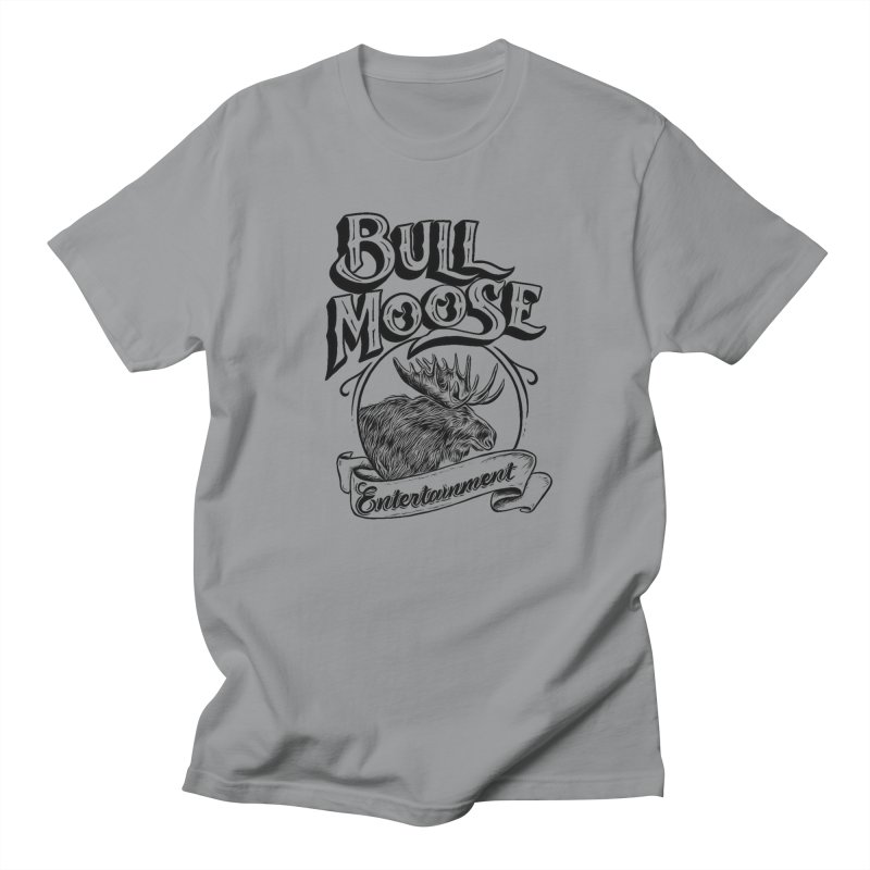 Bull Moose Logo Men's T-Shirt by thebullmoose's Artist Shop