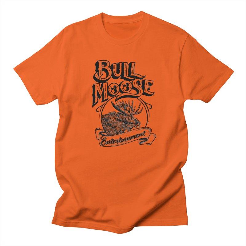 Bull Moose Logo Men's Regular T-Shirt by thebullmoose's Artist Shop