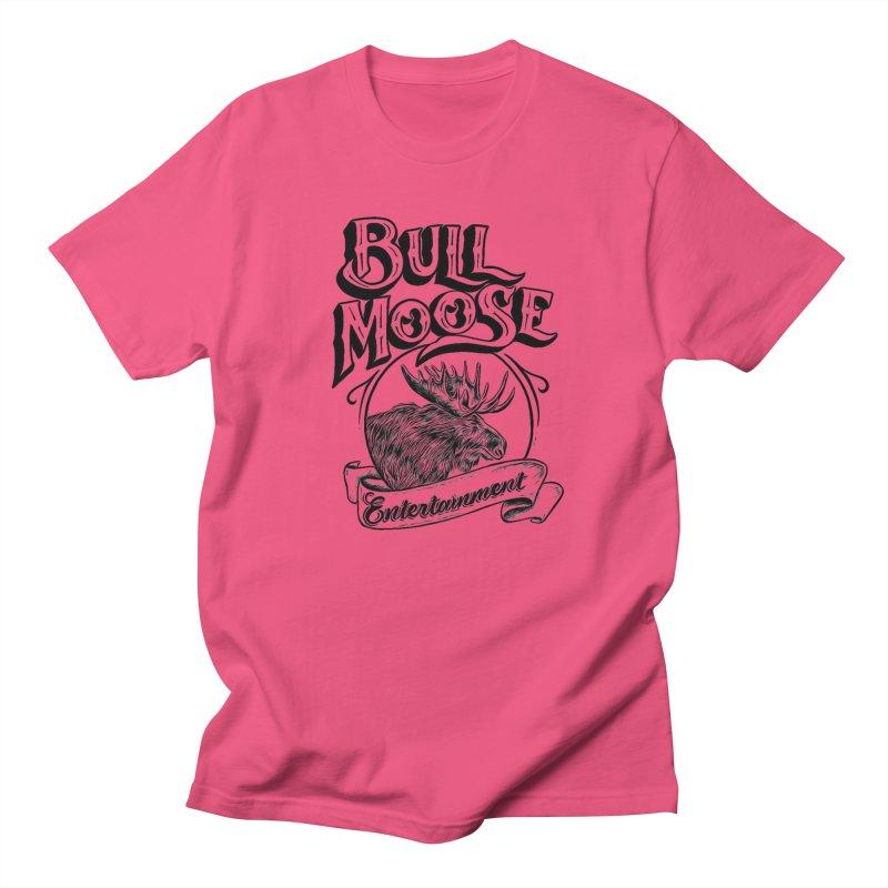 Bull Moose Logo Men's T-Shirt by thebullmoose's Artist Shop