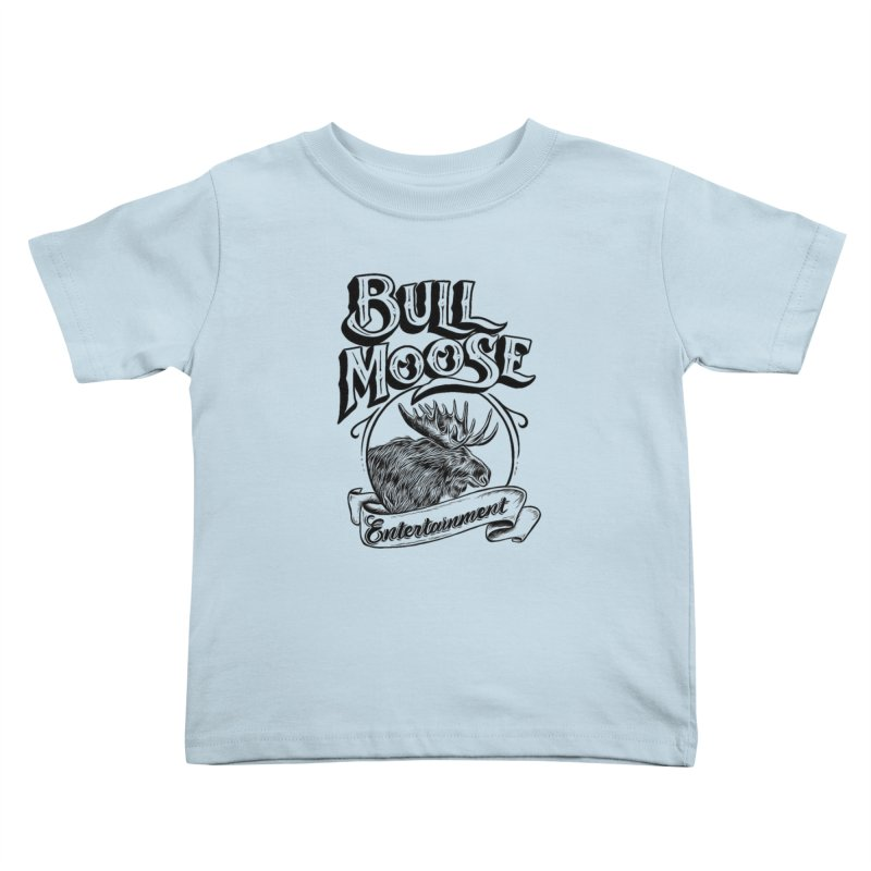 Bull Moose Logo Kids Toddler T-Shirt by thebullmoose's Artist Shop