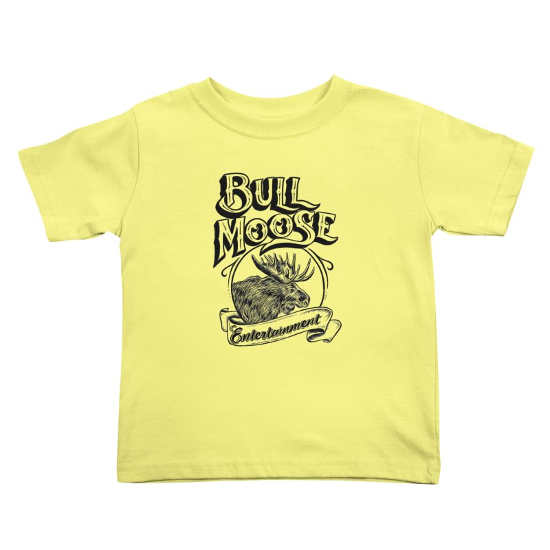 Bull Moose Logo Kids Toddler T-Shirt by thebullmoose's Artist Shop