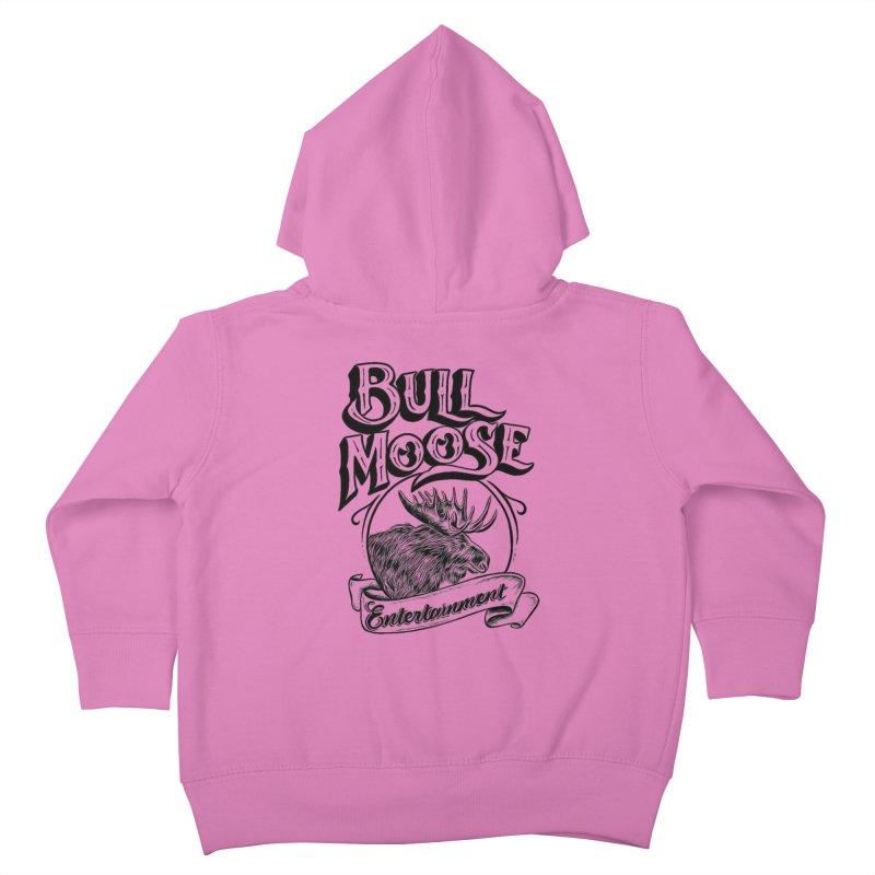 Bull Moose Logo Kids Toddler Zip-Up Hoody by thebullmoose's Artist Shop
