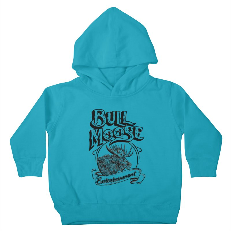 Bull Moose Logo Kids Toddler Pullover Hoody by thebullmoose's Artist Shop