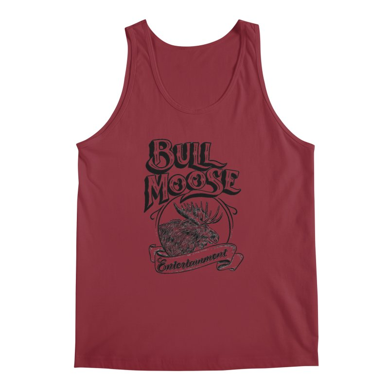 Bull Moose Logo Men's Regular Tank by thebullmoose's Artist Shop
