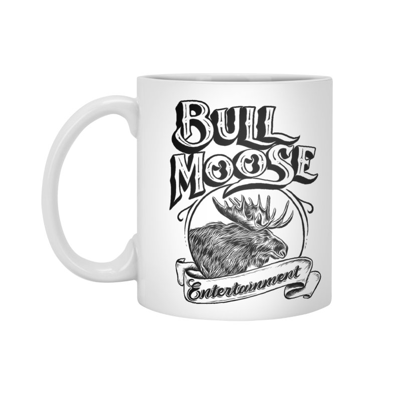 Bull Moose Logo Accessories Standard Mug by thebullmoose's Artist Shop