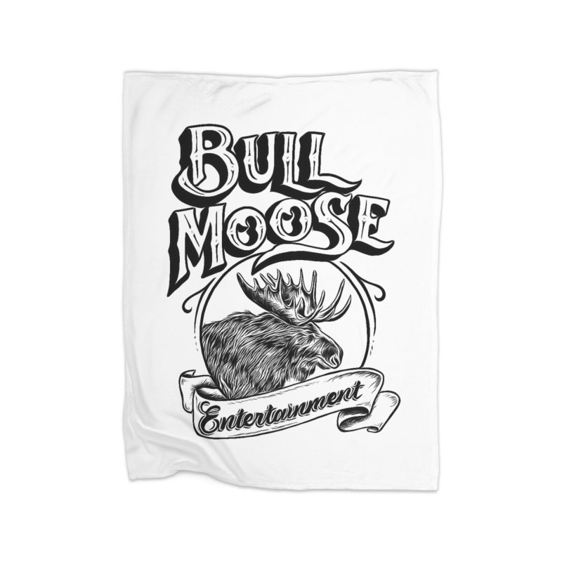 Bull Moose Logo Home Blanket by thebullmoose's Artist Shop
