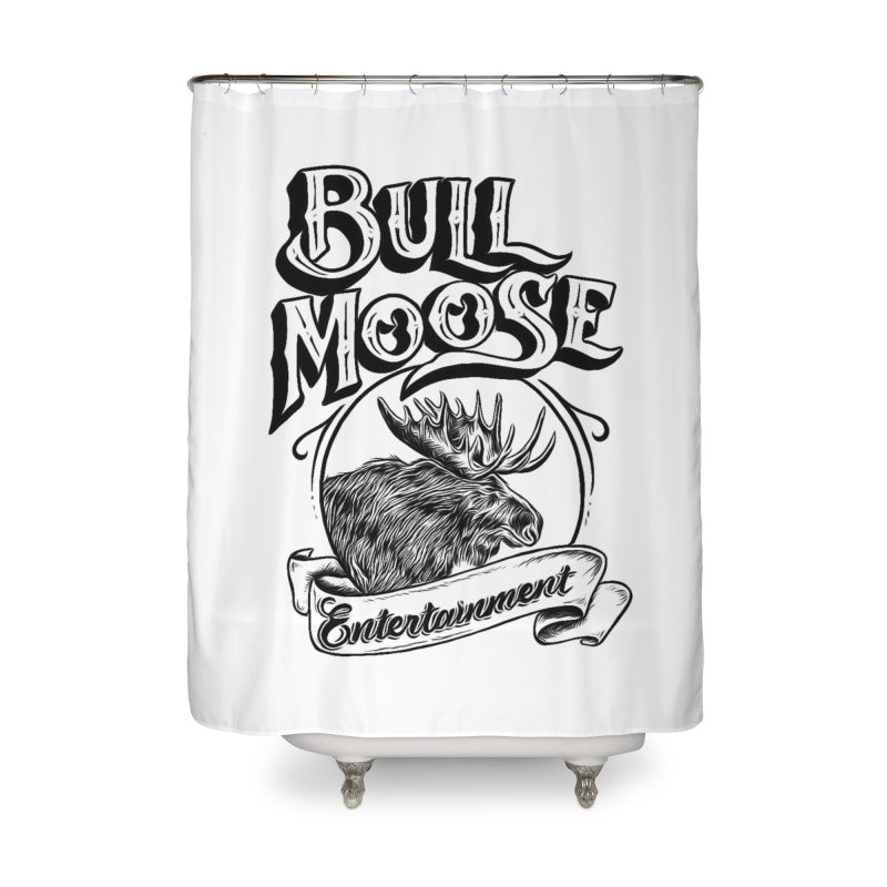 Bull Moose Logo Home Shower Curtain by thebullmoose's Artist Shop
