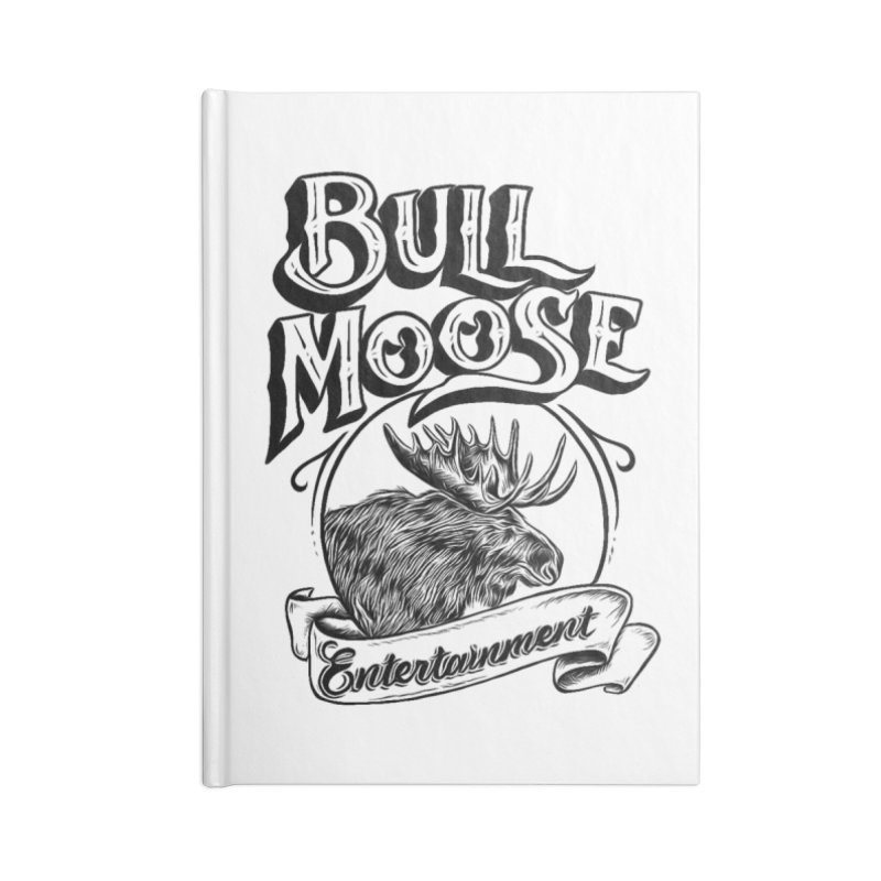 Bull Moose Logo Accessories Blank Journal Notebook by thebullmoose's Artist Shop