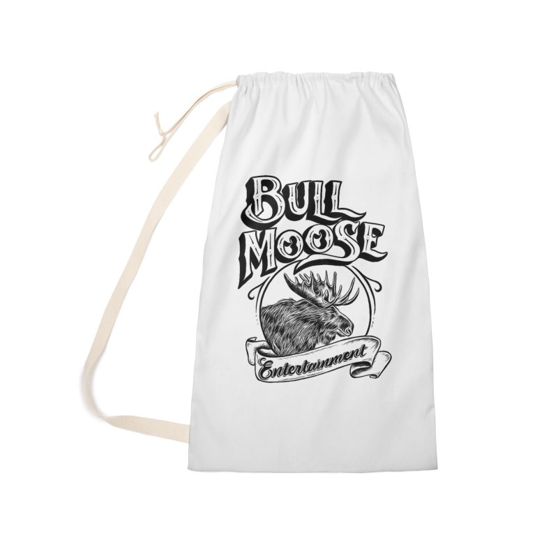 Bull Moose Logo Accessories Laundry Bag Bag by thebullmoose's Artist Shop