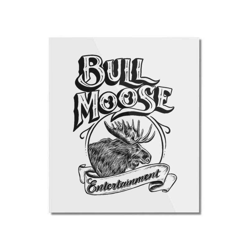 Bull Moose Logo Home Mounted Acrylic Print by thebullmoose's Artist Shop