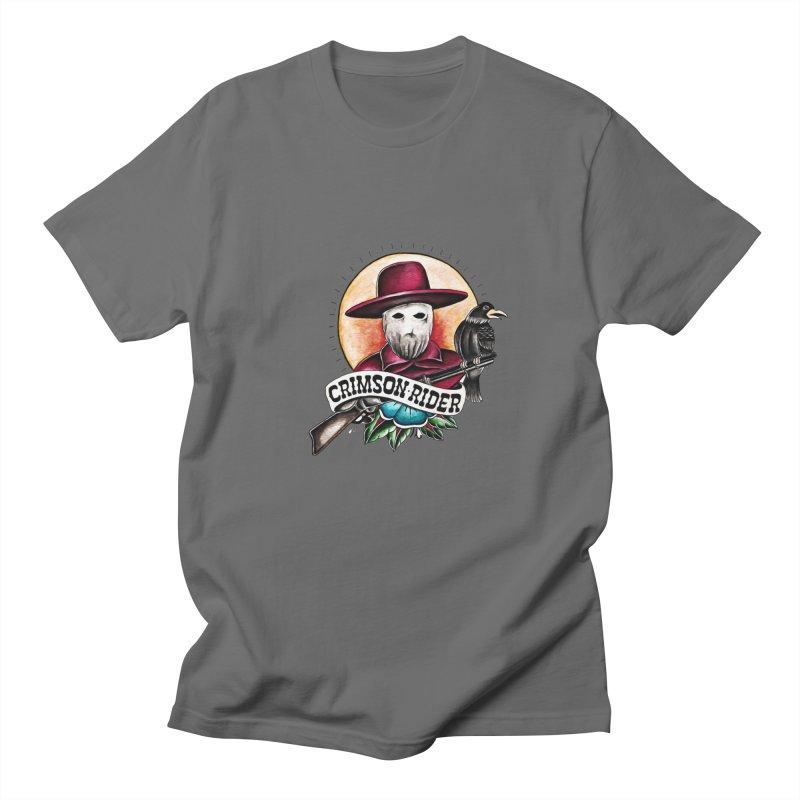 Crimson Rider/Jake Clinton Men's T-Shirt by thebullmoose's Artist Shop