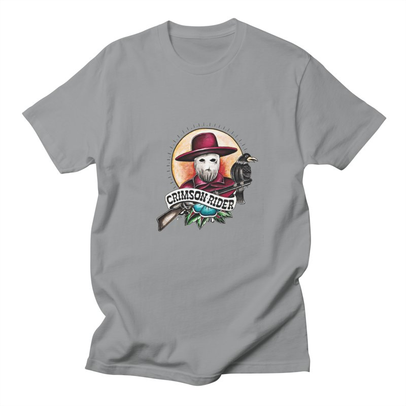 Crimson Rider/Jake Clinton Men's Regular T-Shirt by thebullmoose's Artist Shop