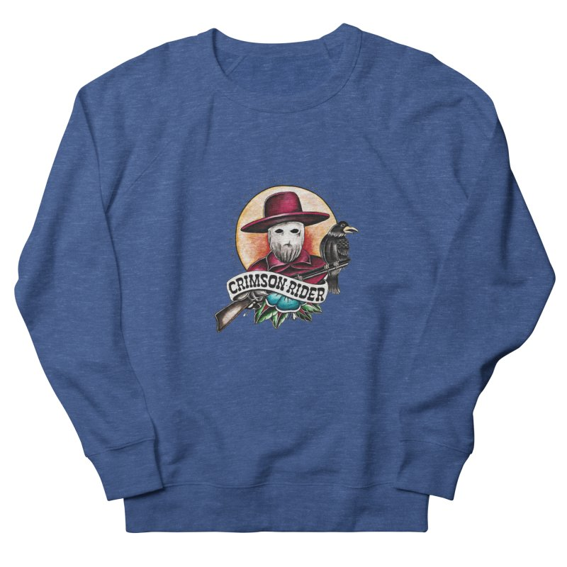 Crimson Rider/Jake Clinton Men's Sweatshirt by thebullmoose's Artist Shop