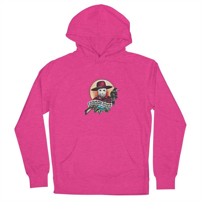 Crimson Rider/Jake Clinton Women's Pullover Hoody by thebullmoose's Artist Shop