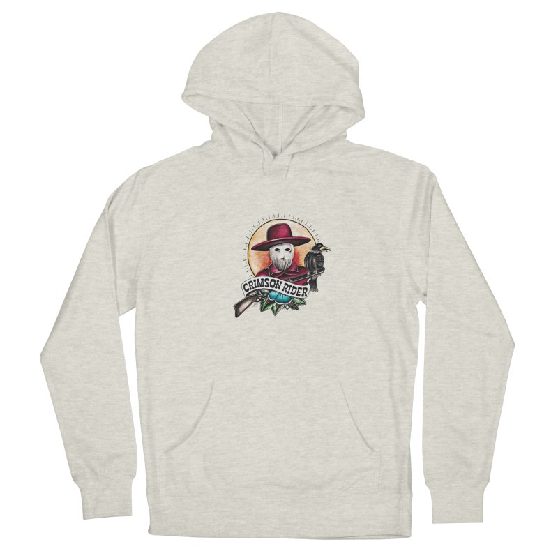 Crimson Rider/Jake Clinton Women's Pullover Hoody by thebullmoose's Artist Shop