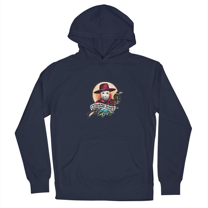 Crimson Rider/Jake Clinton Men's Pullover Hoody by thebullmoose's Artist Shop