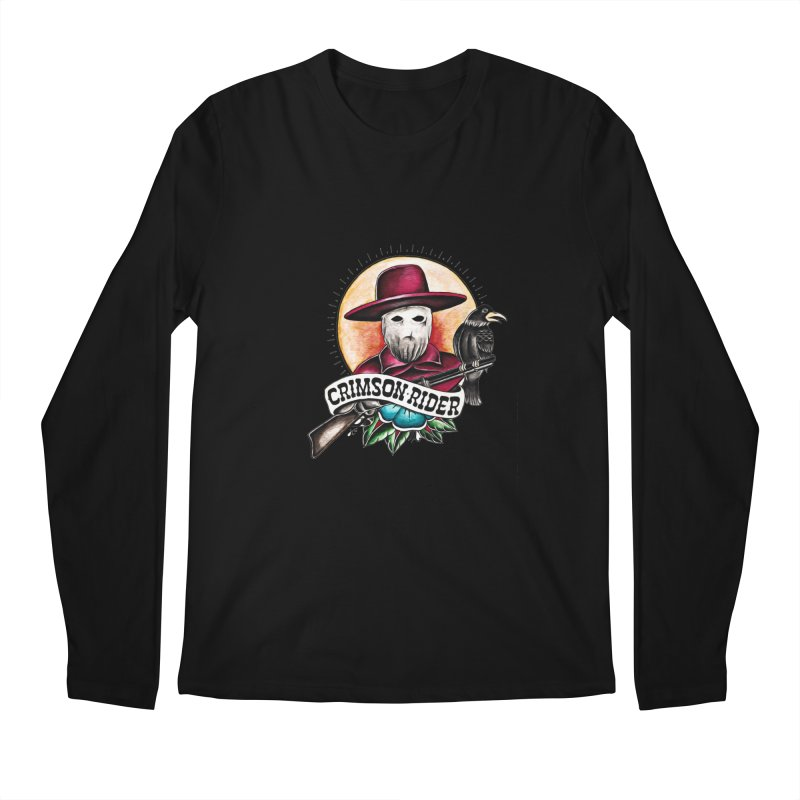 Crimson Rider/Jake Clinton Men's Regular Longsleeve T-Shirt by thebullmoose's Artist Shop