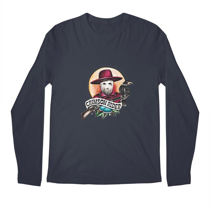 Crimson Rider/Jake Clinton Men's Regular Longsleeve T-Shirt by thebullmoose's Artist Shop