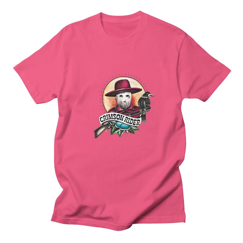 Crimson Rider/Jake Clinton Women's Regular Unisex T-Shirt by thebullmoose's Artist Shop