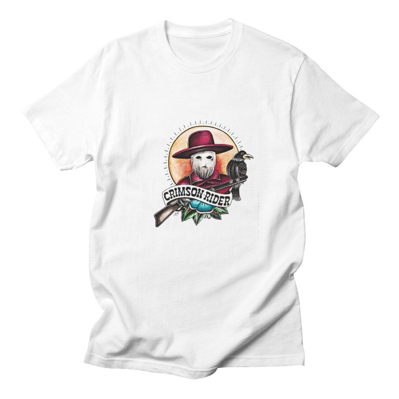 Crimson Rider/Jake Clinton Men's T-Shirt by thebullmoose's Artist Shop
