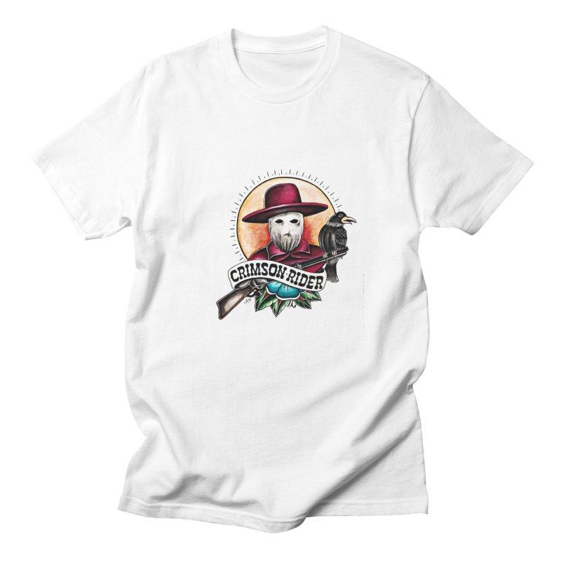 Crimson Rider/Jake Clinton Men's Regular T-Shirt by thebullmoose's Artist Shop