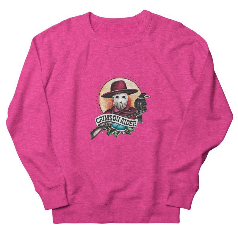 Crimson Rider/Jake Clinton Women's French Terry Sweatshirt by thebullmoose's Artist Shop