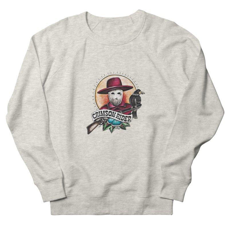 Crimson Rider/Jake Clinton Men's French Terry Sweatshirt by thebullmoose's Artist Shop