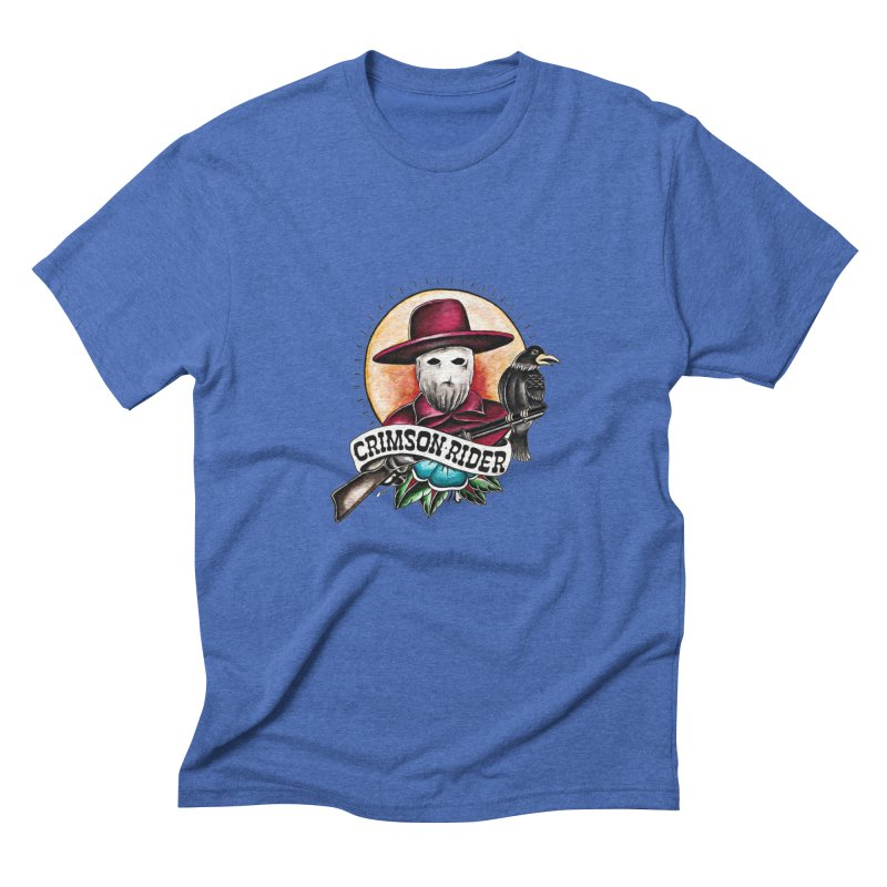 Crimson Rider/Jake Clinton Men's Triblend T-Shirt by thebullmoose's Artist Shop