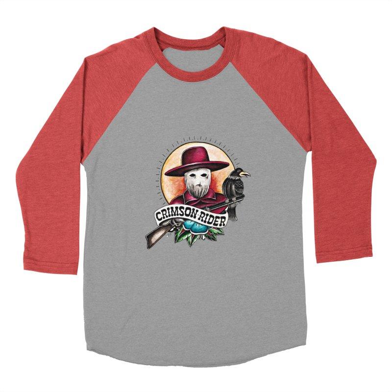 Crimson Rider/Jake Clinton Women's Baseball Triblend Longsleeve T-Shirt by thebullmoose's Artist Shop