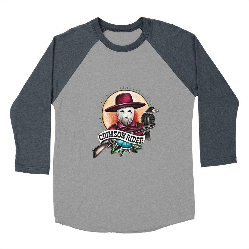 Crimson Rider/Jake Clinton Men's Baseball Triblend Longsleeve T-Shirt by thebullmoose's Artist Shop