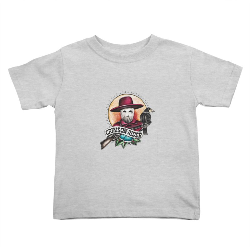 Crimson Rider/Jake Clinton Kids Toddler T-Shirt by thebullmoose's Artist Shop