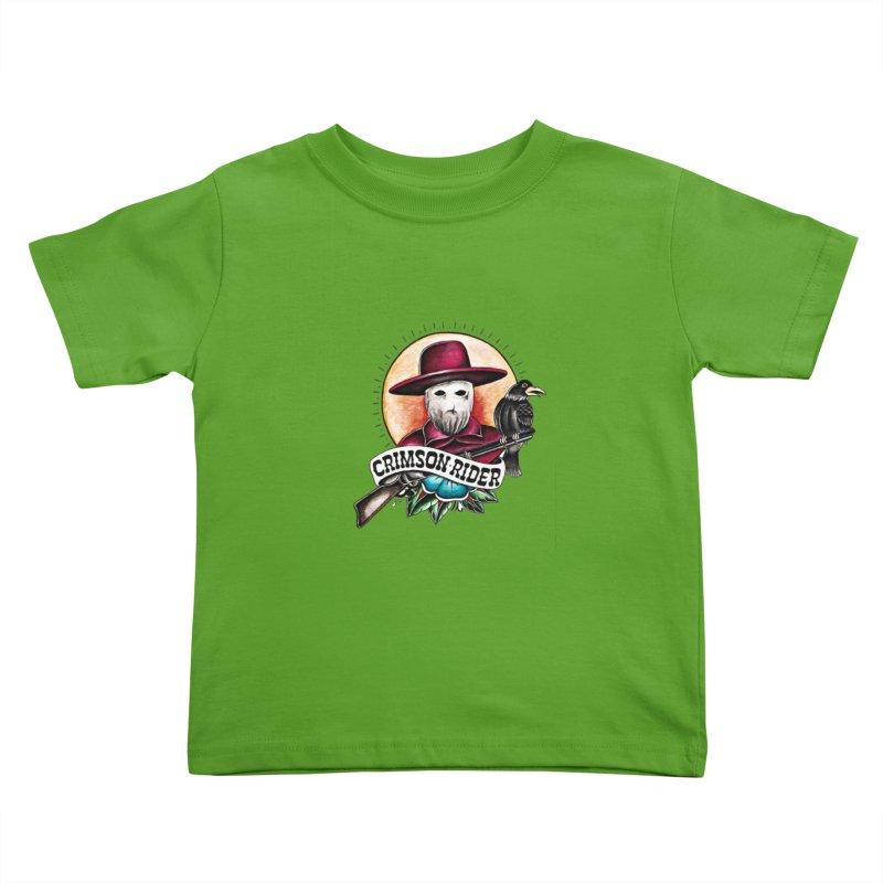 Crimson Rider/Jake Clinton Kids Toddler T-Shirt by thebullmoose's Artist Shop
