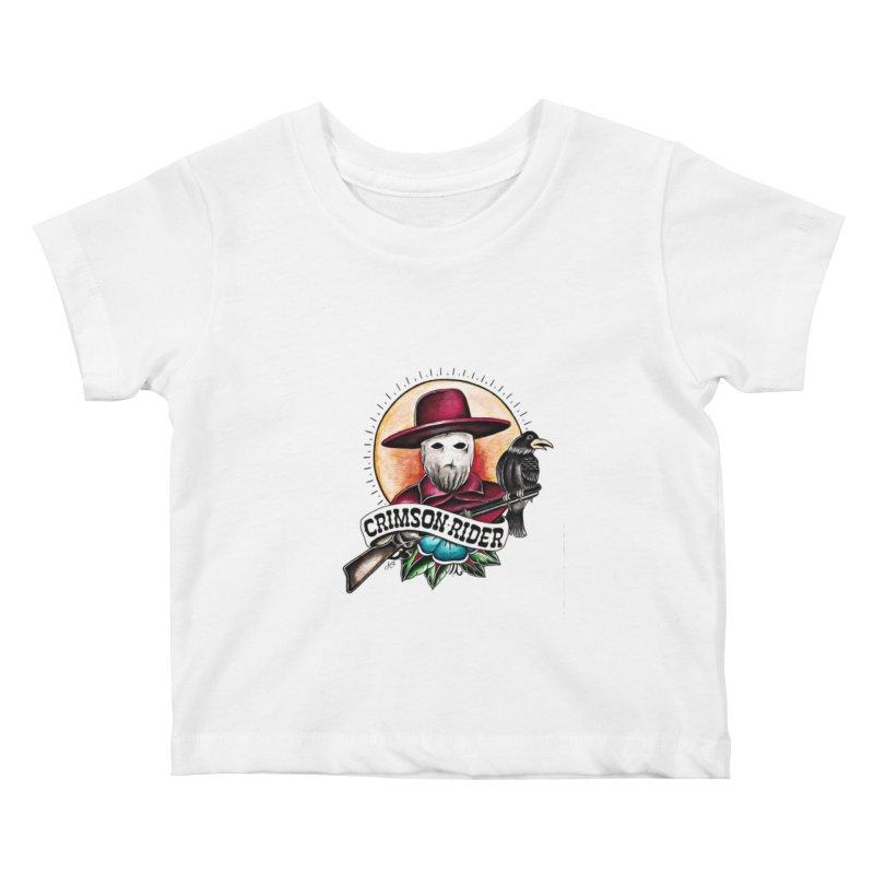 Crimson Rider/Jake Clinton Kids Baby T-Shirt by thebullmoose's Artist Shop