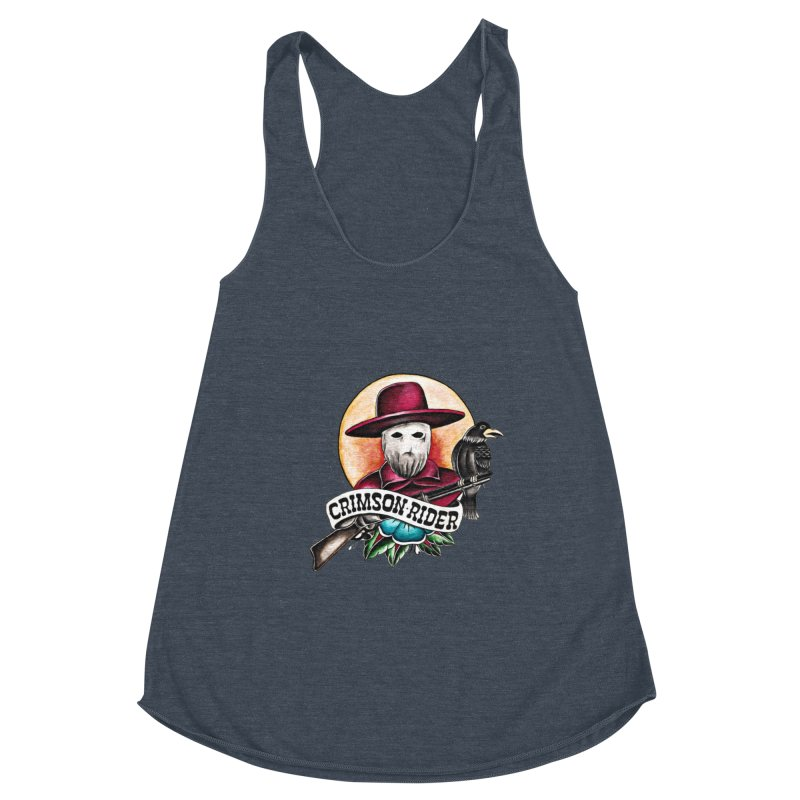 Crimson Rider/Jake Clinton Women's Tank by thebullmoose's Artist Shop