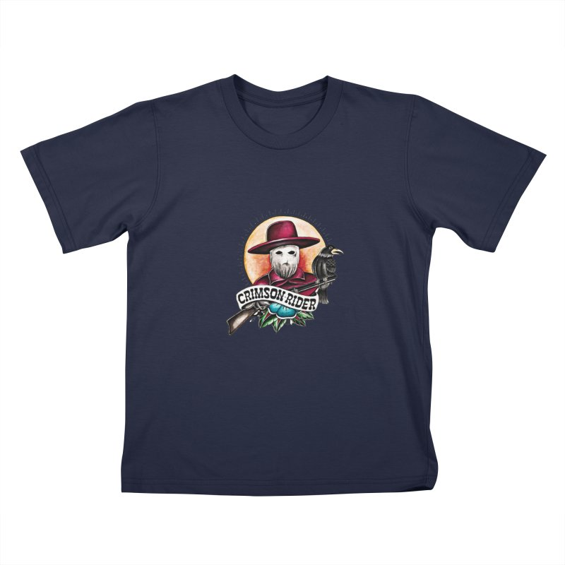 Crimson Rider/Jake Clinton Kids T-Shirt by thebullmoose's Artist Shop