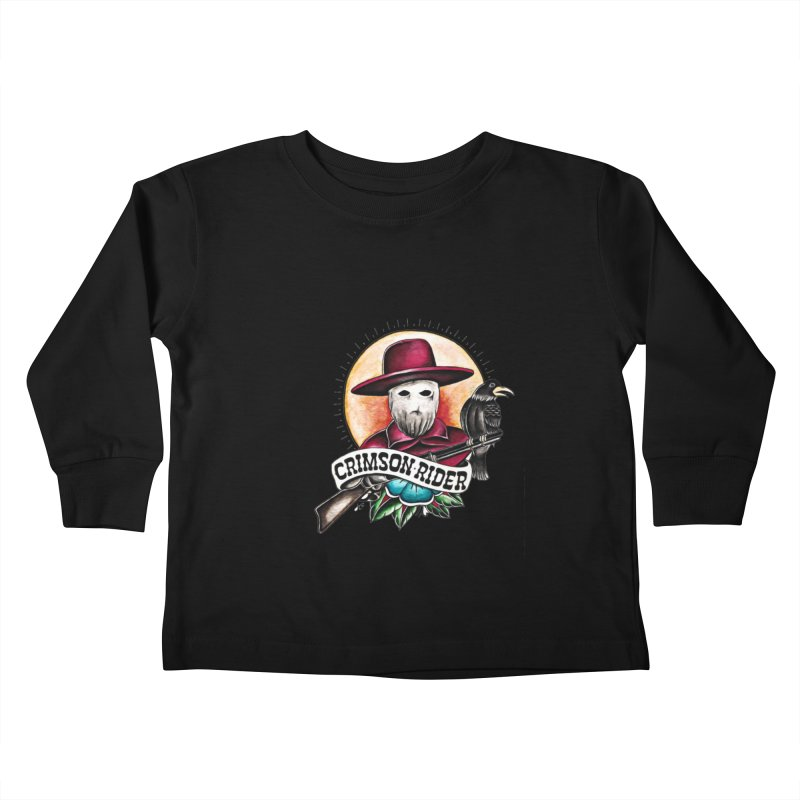 Crimson Rider/Jake Clinton Kids Toddler Longsleeve T-Shirt by thebullmoose's Artist Shop