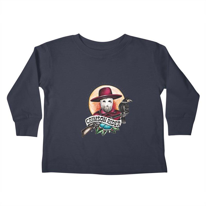 Crimson Rider/Jake Clinton Kids Toddler Longsleeve T-Shirt by thebullmoose's Artist Shop
