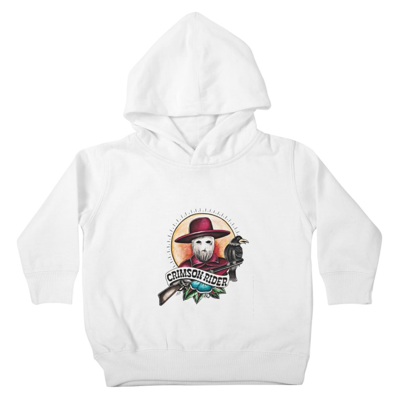 Crimson Rider/Jake Clinton Kids Toddler Pullover Hoody by thebullmoose's Artist Shop